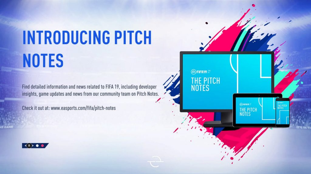 pitch notes fifa 19