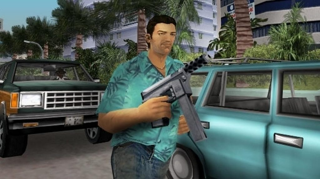 GTA Vice City PS2 & PS3